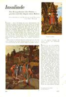 Insulinde (das Kriegstheater Des Ostens Gesehen Mit Den Augen Eines Malers) / Artikel, Entnommen Aus Zeitschrift /1942 - Bücher, Zeitschriften, Comics