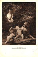 Romulus Und Remus (Gemälde Von Joseph Binder) / Druck, Entnommen Aus Zeitschrift /1942 - Livres, BD, Revues