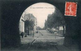CPA   92   QUAI D'ASNIERES ---VUE ARTISTIQUE---1911 - Asnieres Sur Seine