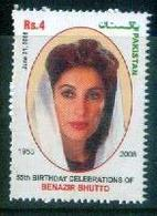 F16- 55th Birthday Celebration Of Benazir Bhutto Ex. Prime Minister Of Pakistan. Famous Women. - Pakistan