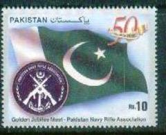 F18- Golden Jubilee Meet Pakistan Rifle Associattion. Flag. 13-02-2010. - Pakistan