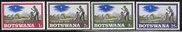 Botswana, Scott # 47-50 MNH Christmas, 1968 - Botswana (1966-...)