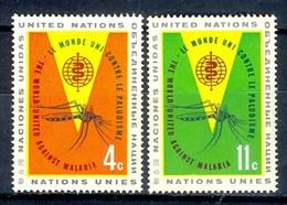 F33- United Nations New York UN UNO 1962. Anti Malaria Campaign. - UNO