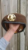 Baret  Beret,Cap  Royal Netherlands Army - Regiment Genietroepen / Companies, Squadrons Regiment - Headpieces, Headdresses