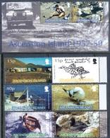 F60- Ascension Island 2007. Birds. Ship. Boot. Mountain. House. - Birds