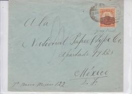 ENVELOPE USED CIRCULATED MEXICO CIRCA 1930's TBE-BLEUP - Honduras