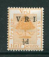 ORANGE- Y&T N°22- Neuf Avec Charnière * - État Libre D'Orange (1868-1909)