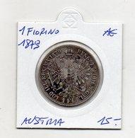 Austria - 1879 - 1 Fiorino - Argento - (MW1251) - Austria