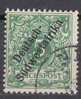 DEUTSCH SUDWESTAFRIKA - 1898 - Michel 6 Obliterato. - Colony: German South West Africa