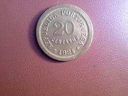 20 Centavos 1924 - Portugal