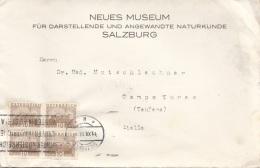 ÖSTERREICH 1933 - 4x10 Gro Auf Brief, Gebrauchsspuren - Cartas