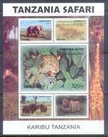 F72- TANZANIA SAFARI 2007. ANIMALS LIONS BUFFALO ELEPHANTS ZEBRAS. - Stamps