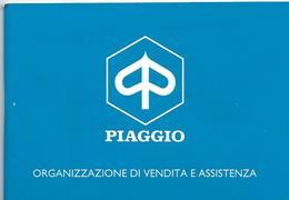 5-PIAGGIO-ORGANIZZAZIONE DI VENDITA E ASSISTENZA(2A EDIZIONE 1993) - Moto