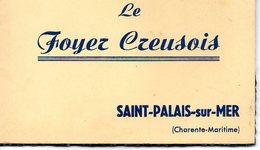 SAINT PALAIS SUR MER  Carnet De 8 Cartes Postales Du Foyer Creusois - Saint-Palais-sur-Mer
