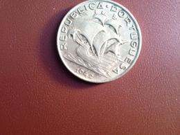 5 Escudos 1942 Silver - Portugal