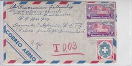 AIRMAIL USED GUATEMALA TO USA.1950 BON ETAT-BLEUP - Guatemala