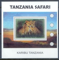 F78- TANZANIA SAFARI 2007. ANIMALS LIONS. - Stamps