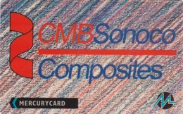 Mercury, MER290, CMB Sonoco Composites, Mint, 2 Scans.  20MERA/W - United Kingdom