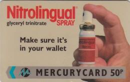 Mercury, MER296, Nitrolingual, Mint, 20MERA, 2 Scans. - United Kingdom