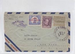 AIRMAIL USED CIRCULATED GUATEMALA TO NEW YORK 1932.-BLEUP - Guatemala