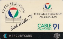 Mercury, MER311, Cable TV Convention '91, Mint, 2 Scans. - United Kingdom
