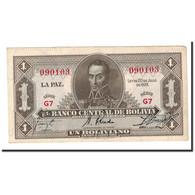 Billet, Bolivie, 1 Boliviano, L.1928, KM:128a, TTB - Bolivie
