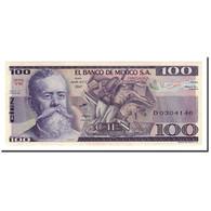 Billet, Mexique, 100 Pesos, 1981-1982, 1982-03-25, KM:74c, NEUF - Mexique