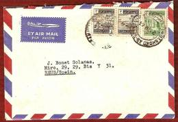 Carta Circulada De IRAQ A ESPAÑA En 1964 - Iraq