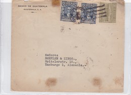 BANCO DE GUATEMALA ENVELPE CIRCULATED ALEMANIA GERMANY CIRCA 1930's.-BLEUP - Guatemala