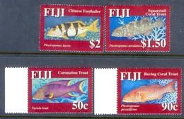 F83- Fiji 2007 Squaretail Coral Trout. Fish - Fishes