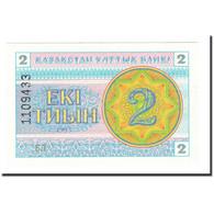 Billet, Kazakhstan, 2 Tyin, 1993, KM:2a, NEUF - Kazakhstan