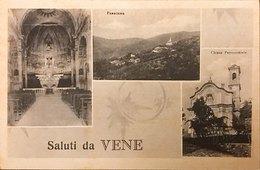 Rialto (Savona) Frazione Vene Vedutine Chiesa Parrocchiale E Panorama - Savona