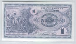 MACEDONIA 1 1992 10 Denar UNC - Mazedonien
