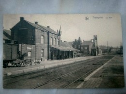 Trazegnies Gare Station Sncb Nmbs Gouy Courcelles Souvret Rare - Courcelles