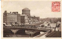 POSTAL  - DUBLIN  . IRLANDA  -THE FOUR COURTS  ( LAS CUATRO CORTES ) - Irlanda
