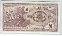 MACEDONIA 3 1992 50 Denar UNC - Mazedonien