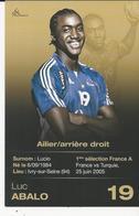 10X15   IVRY  Luc Abalo   (Lucio) Sport    Handball  Publicité    Recto-verso - Ivry Sur Seine