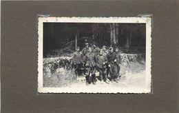 GUERRE 1935/44 - Stalag 228 XVII Gw,groupe De Prisonniers, Photo Format  9cm X 6cm. - War, Military