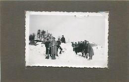 GUERRE 1935/44 - Stalag 210 XVII Gw,groupe De Prisonniers, Photo Format  9cm X 6cm. - War, Military