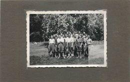 GUERRE 1935/44 - Stalag 244 XVII Gw, Groupe De Prisonniers., Photo Format  9cm X 6cm. - War, Military