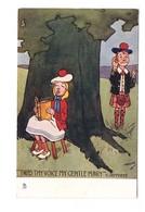 Illustrateur Illustration Raphael Tuck Oilette Dessin Hamish Série Highland Laddie - Tuck, Raphael
