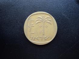 ISRAËL : 10 AGOROT  5729 (1969)  KM 26     TTB - Israel