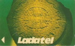 CARTE-MAGNETIQUE-MEXIQUE-1990-TELMEX-30$-MEDAILLON INDIEN-TBE - Mexique