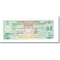 Billet, Argentine, 1 Austral, KM:S2711a, NEUF - Argentine