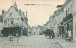 ETREPAGNY GRANDE RUE - Frankreich