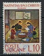 Vatican - Vatikanstadt 1964 Y&T N°415 - Michel N°464 (o) - 10l Noël - Oblitérés