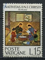 Vatican - Vatikanstadt 1964 Y&T N°416 - Michel N°465 (o) - 15l Noël - Oblitérés