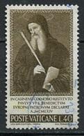 Vatican - Vatikanstadt 1965 Y&T N°432 - Michel N°481 (o) - 40l Saint Benoit - Oblitérés