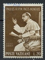 Vatican - Vatikanstadt 1965 Y&T N°434 - Michel N°483 (o) - 20l Paul VI - Oblitérés