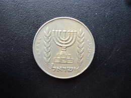 ISRAËL : 1/2 LIRA  5734 (1974)   KM 36.1    TB+ - Israel